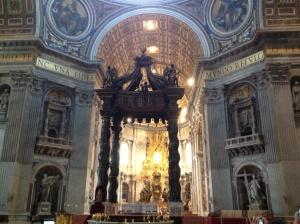 Altar St. Peter's Basilica