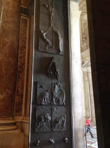 Door to St. Peter's Basilica