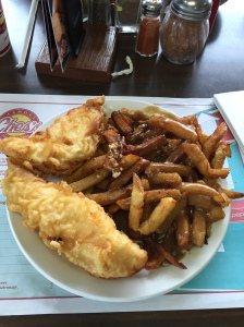 You have to visit Ches' Fish and Chips! Yummy!